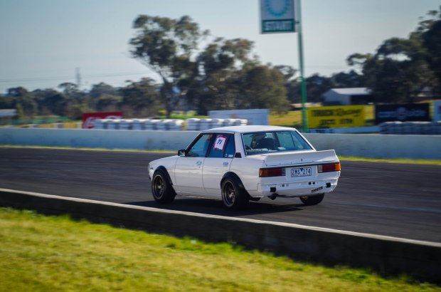 Was good to see this little KE70 Corolla running around the track, powered by a 4A-GE!!