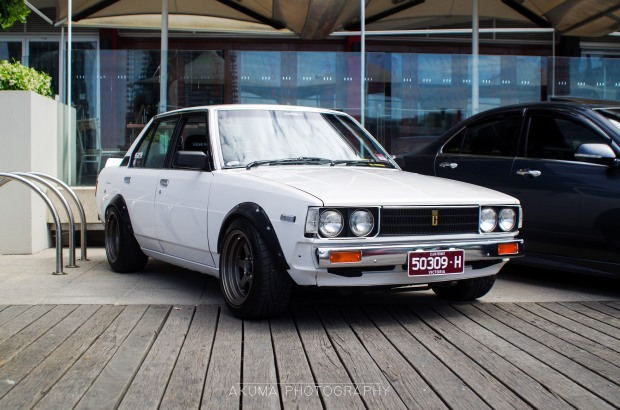 """The nostalgic KE70 attracted some attention. Just walking around some people quote """"Back in my day.."""""""