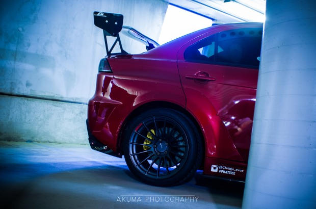 CJ's Widebody Evo stealking the show!