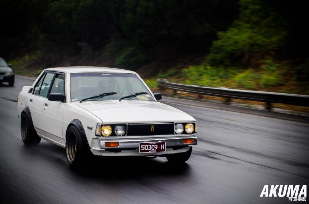 Rolling shots on a wet day