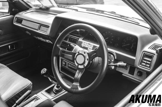 Such a clean interior for an 80's car!
